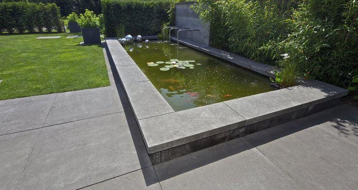 31 best 2 guest images on pinterest balcony landscaping for Spiegelvijver bak