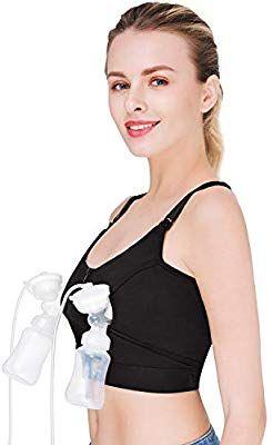 9ce17fc3833ca Amazon.com   2018 New Hands-Free Breast Pump Bra