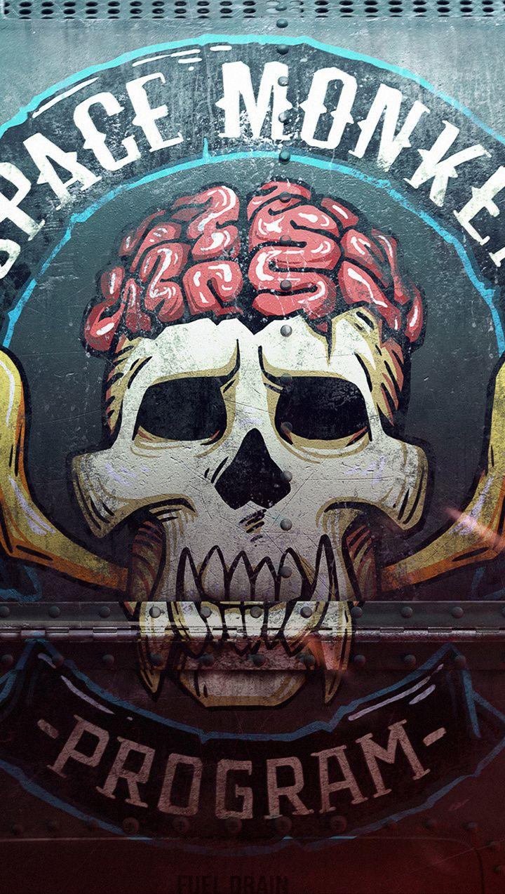 Skull Logo Beyond Good And Evil 2 Video Game 2018 720x1280