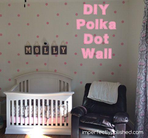 DIY+Polka+Dot+Wall
