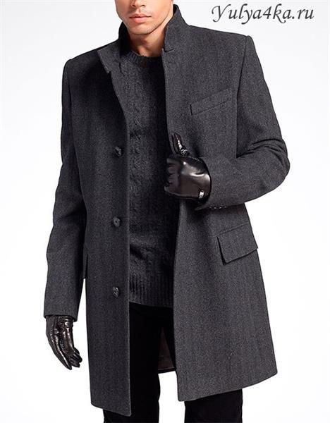 Пальто мужское молодежное зимнее короткое