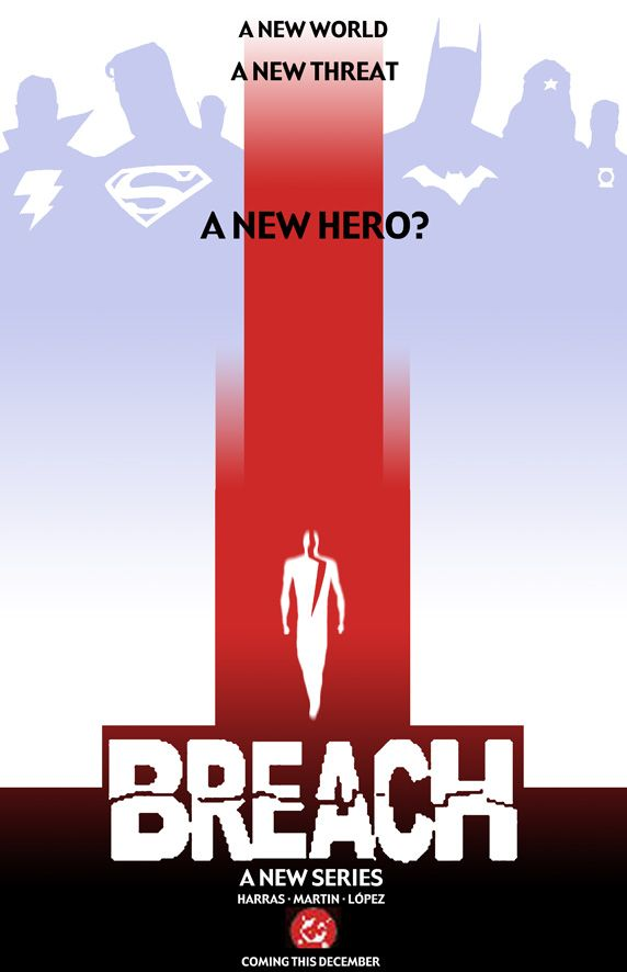 BREACH Promo Concept (2005). Art by Marcos Martin.