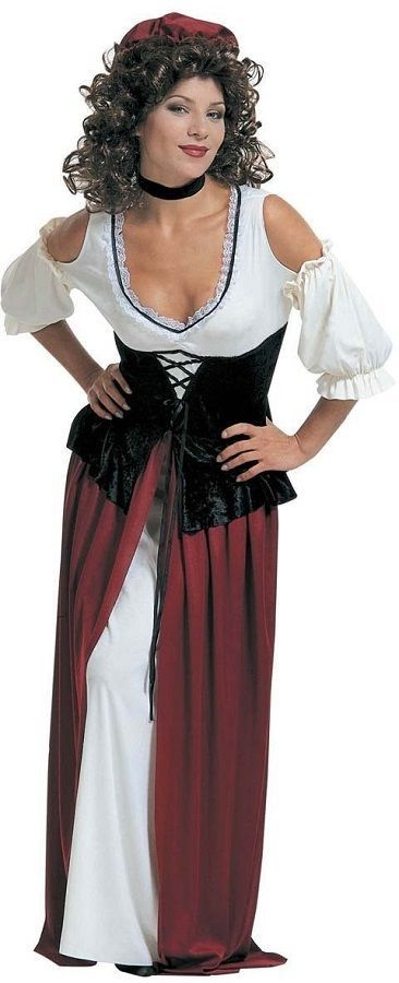 Sexy pirate costume, sexy wench costume