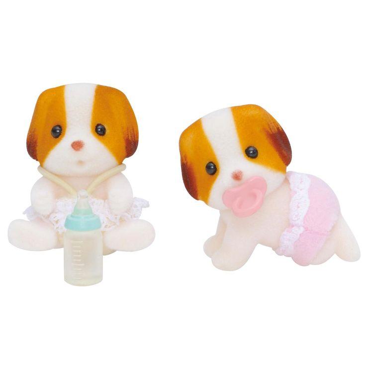 Sylvanian Families Chiffon Dog Twins  https://www.greenanttoysonline.com.au/sylvanian-families-chiffon-dog-twins