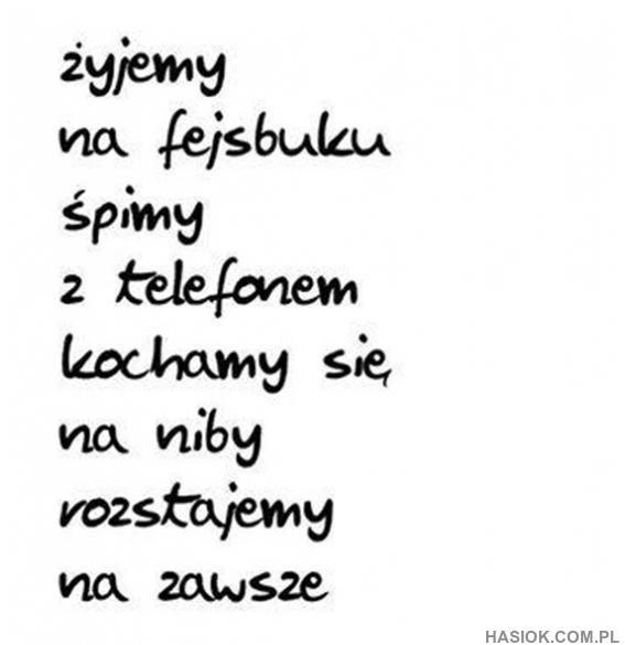 Żyjemy na Facebooku- HASIOK.COM.PL