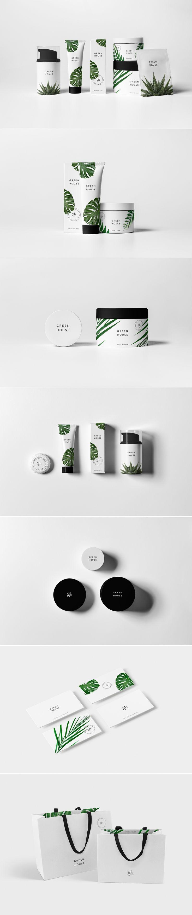 Green House brand identity