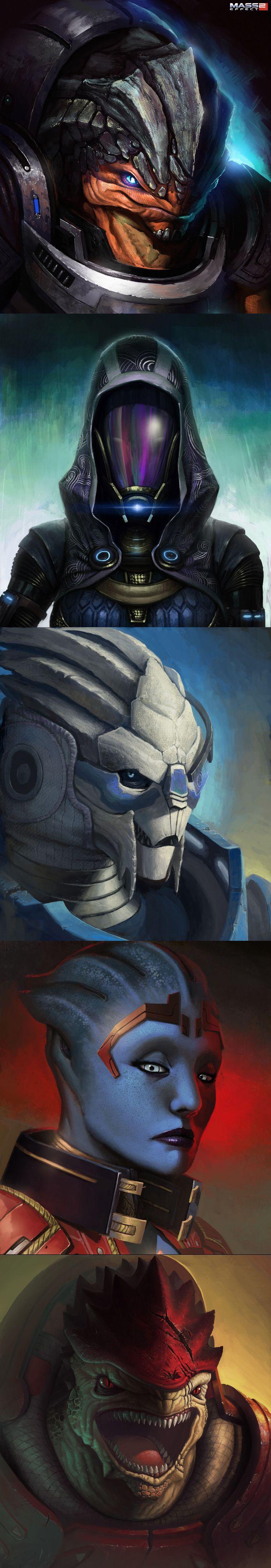 Mass Effect 2 - Les portraits de Luc De Haan