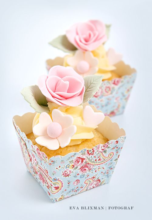 sweet square cupcakes ♥