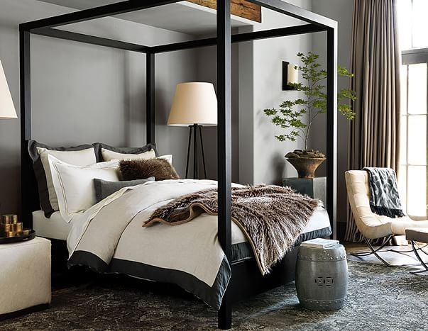 best 25 modern rustic bedrooms ideas on pinterest 17022 | f57444ce68c193ac3a5b039509fdf7bd canopy beds canopies