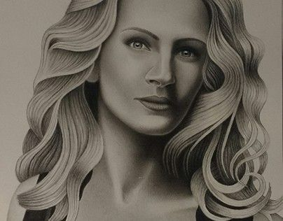 """Check out new work on my @Behance portfolio: """"Portrait drawing"""" http://be.net/gallery/52670073/Portrait-drawing"""