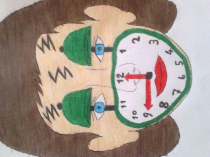 saat yüz boyama