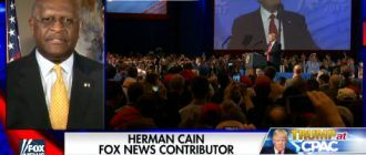 "Herman Cain: LOL! ""I Heard Liberals Heads Exploding During Trump's CPAC Speech"" [VIDEO]"