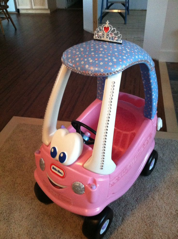 Princess little tykes car