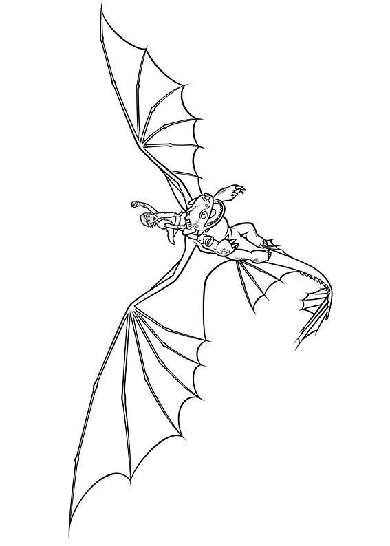 33 Disegni Di Dragon Trainer 1 E 2 Da Colorare Idee Cinema