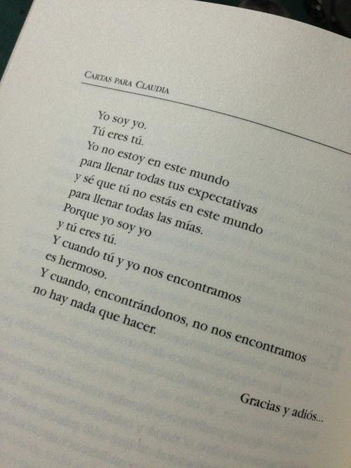 """Cartas para Claudia"", Jorge Bucay"