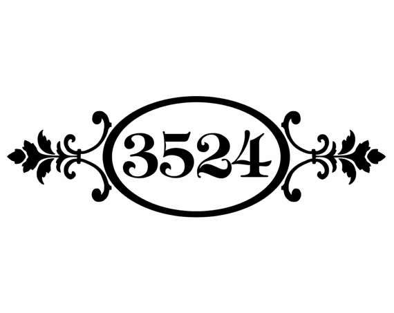 Mailbox decal, standard mailbox decal, custom sizes available, Curb appeal, front door decal, Business decal, transom decal, window decal, Dropbox decal Custom orders available with request Made with high quality vinyl, 100% waterproof, 6-7 year lifespan Outdoors, indefinitely Indoors