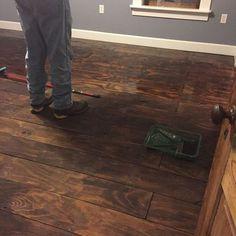 How to Fake Hardwood Floors Using Plywood