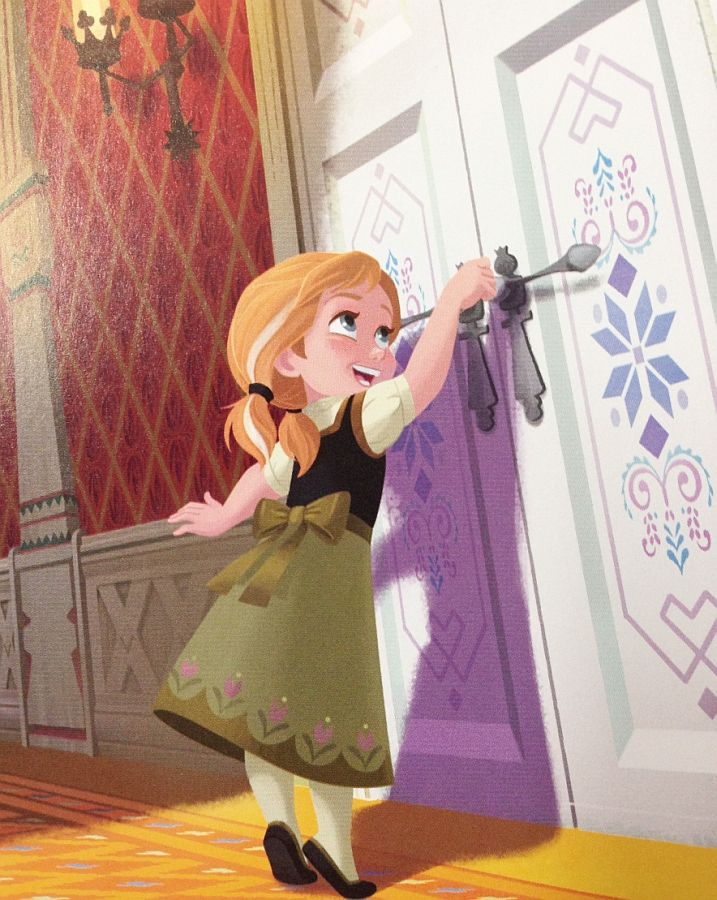 Resultado de imagen de anna knocking at the doorfrozen