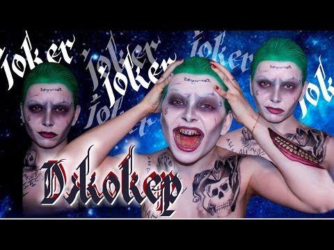 Joker make up OST Отряд самоубийц Макияж Джокера | ДЖОКЕР | ШОК | ПЕРЕВОПЛОЩЕНИЕ | TUTORIAL - YouTube