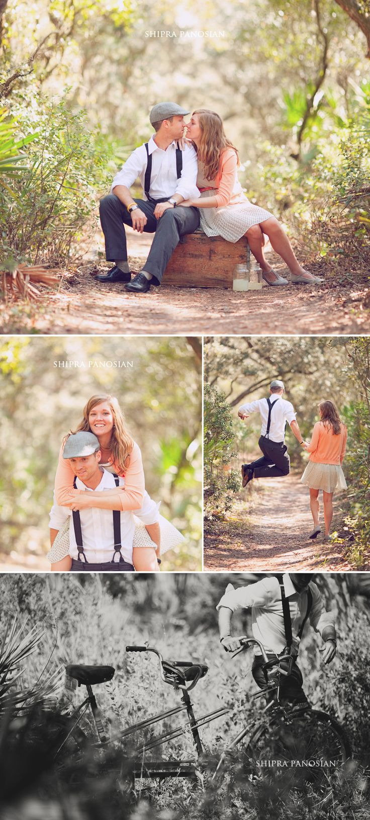 orlando florida vintage engagement photography 04