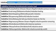 KLAPPENTEXT unter:  http://www.amazon.de/exec/obidos/ASIN/3000290990    ISBN 9783000290992; Preis 12,95 euro; Verlag Lehrmittel-Wagner:  CD-ROM  Wortschatz-Uebersetzungen (60000 Fachbegriffe) fuer Kfz-Mechatroniker / Mechatronik-Ingenieure / Elektroniker / IT-Systemelektroniker / Industriemechaniker / Maschinenbau-Techniker  Deutsch - Englisch.  Technisches Englisch - Deutsch  LESEPROBE / Demo der Fachausdrücke aus dem Antriebstechnik-Bereich:    Hochspannungsanlage {Antriebstechnik}…