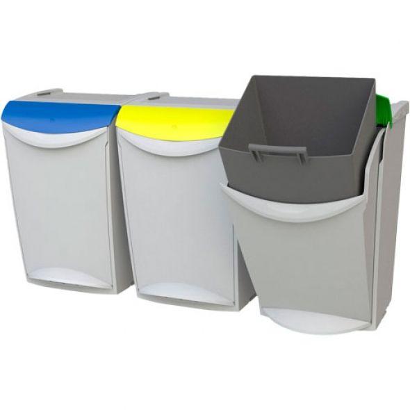 17 mejores im genes sobre cubos basura en pinterest for Cubos de reciclaje