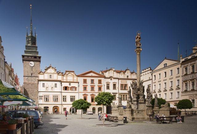 Česko, Pardubice - Pernštýnske náměstí