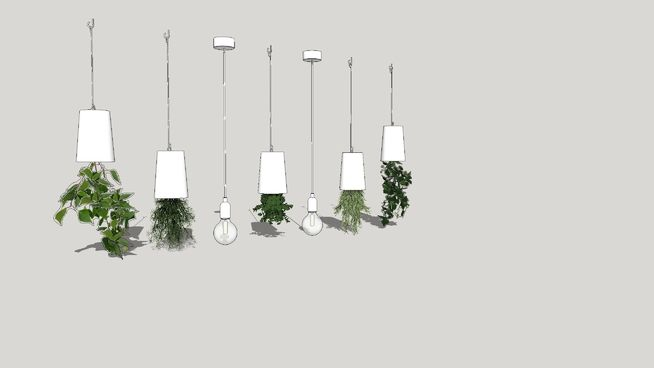 Large preview of 3D Model of lamp, chandelier, pendant light, светильник, лампа, люстра, подвесной светильник