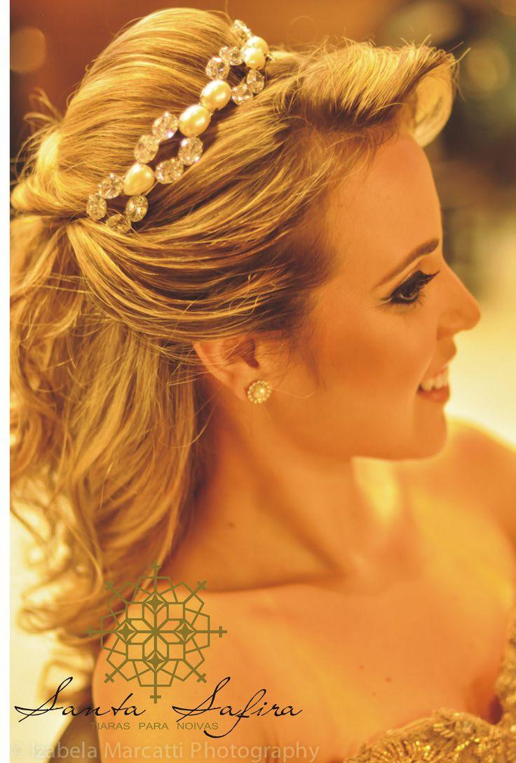penteado semi preso noivas com veu - Pesquisa Google