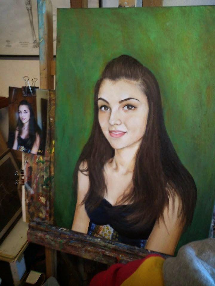 PrisecariuGeaninaArt: Katerina 70x50 oil on canvas
