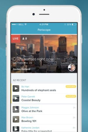 Periscope is developing an app for the new Apple TV, according to multiple sources. It will allow users to watch livestreams on their television that are broadcasted from Twitter's Periscope app. You could consider it a coming of age moment, considering the acquired startup's website is Periscope.tv