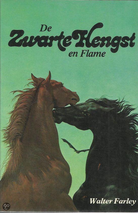 ZWARTE HENGST EN FLAME (NR. 73)