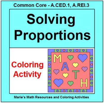 59 best TeachersPayTeachers - Algebra Coloring Activities images on ...