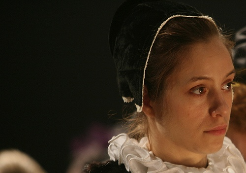 Jodhi May as Rembrandt's mistress Geertje in 'Nightwatching' by greenaway, 2007