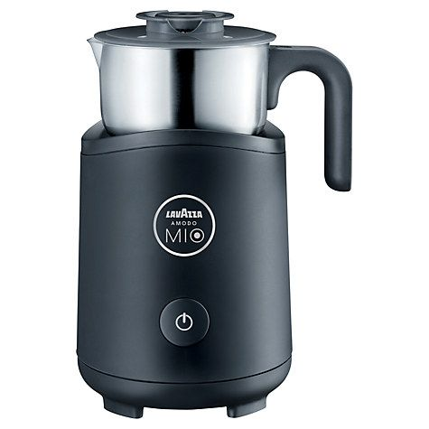 Buy Lavazza Milk Frother, Black Online at johnlewis.com