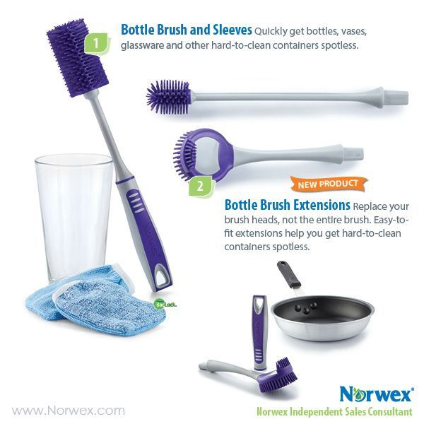 Norwex Products Clean Kitchen Cabinets