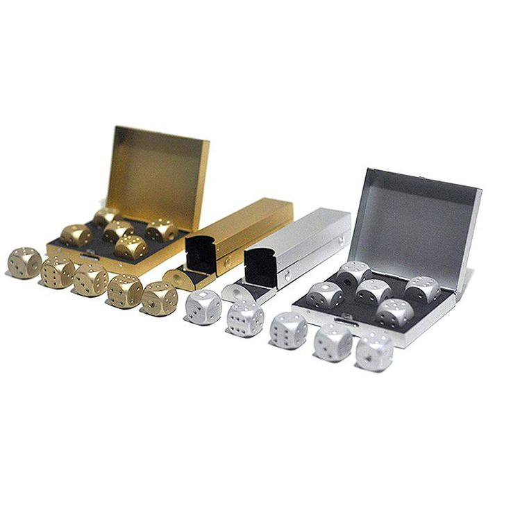 Wholesale cheap  online, dice   - Find best  outdoor entertainment party portable aluminium alloy dice 5pcs solid dominoes dice 2016 new arrival poker game dice 2 color 2507010 at discount prices from Chinese gambing supplier - szloop on DHgate.com.