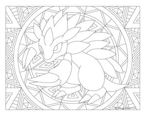 sandslash pokemon coloring pages - photo#22