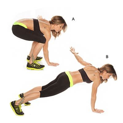 For those of you can kill BURPEES, try this single arm version. Yeah, you rock! | health.com