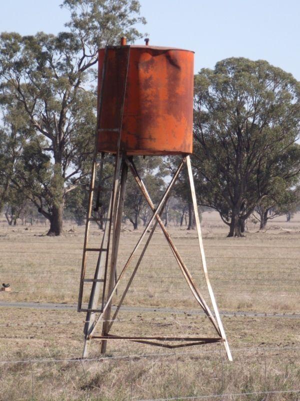 Old tank, Hickman Lane, Culcairn, NSW