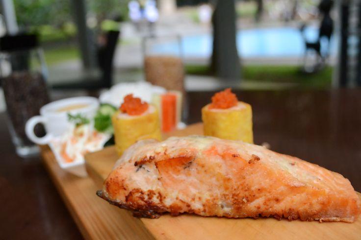 Experience Salmon at Royal Ambarrukmo Yogyakarta JustinClara