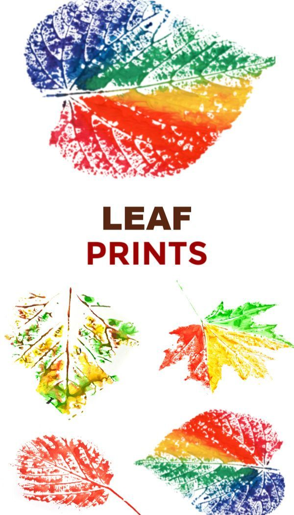 Leaf Painting Fun & creative ways for kids to pain…