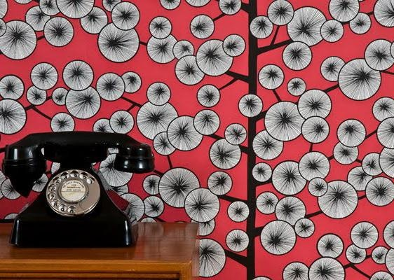 Cotton Tree Wallpaper from MissPrint