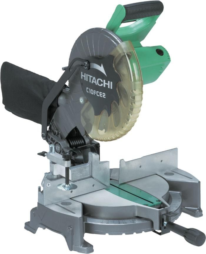 Hitachi C10FCE2 Compound Miter Saw, 10""