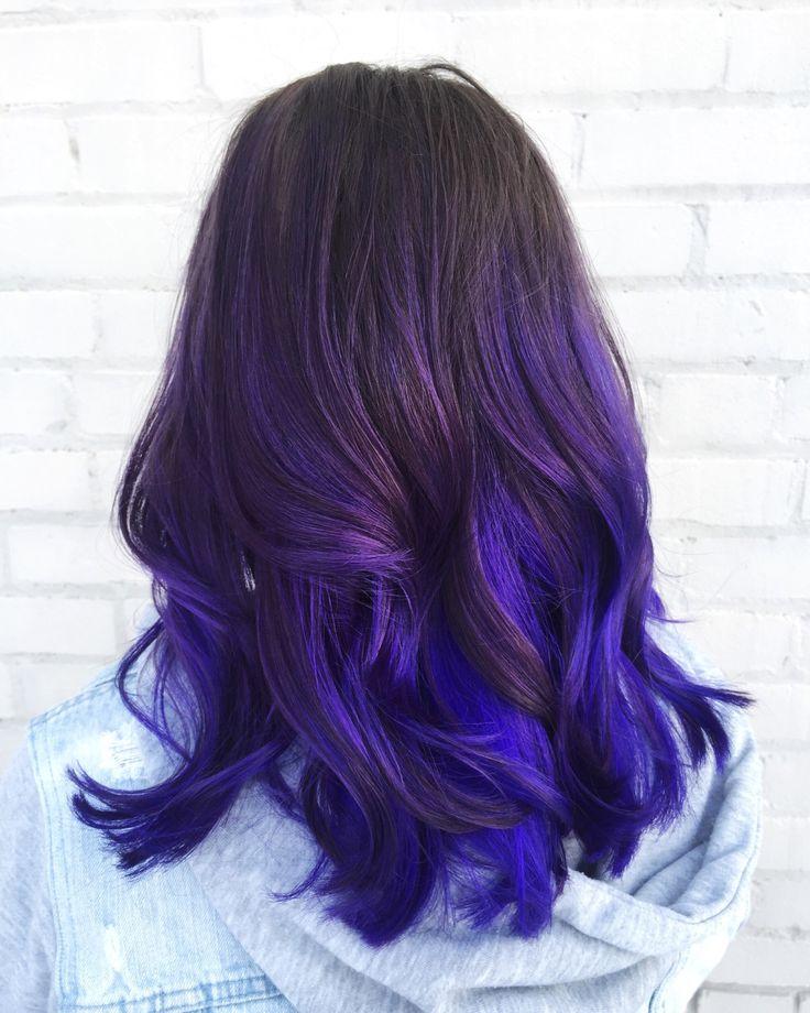 """Über 1.000 Ideen zu """"Blue Purple Hair auf Pinterest  Scene hair ..."""