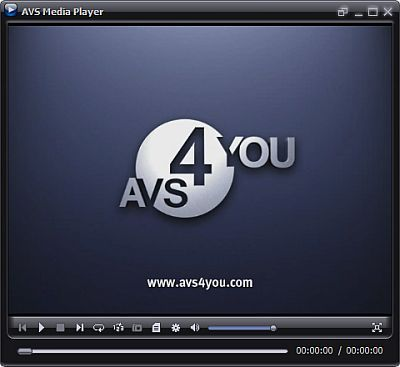 AVS Media Player. Play your audio, video, and view pictures on your desktop. #software #freeware