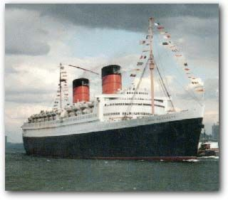 Classic Liners and Cruise Ships - Queen Elizabeth
