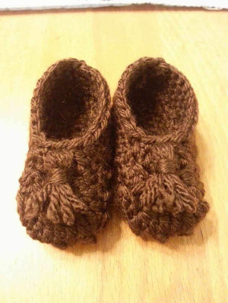332 mejores imágenes en Free Crochet Baby Buntings, Booties and ...