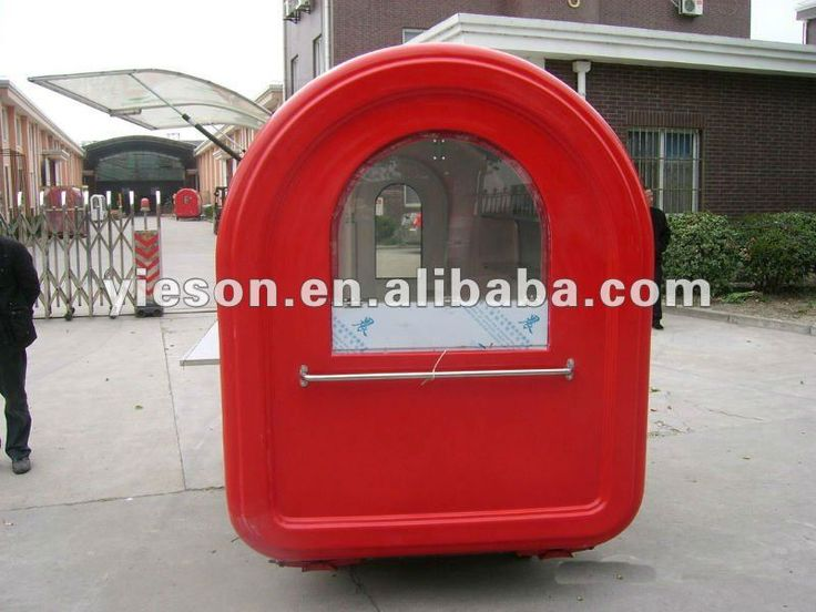 China Mobile Food Kiosk Food Carts / Food trolley For Sale YS-BF230