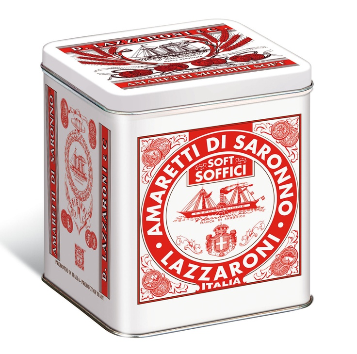 Lazzaroni Soft Amaretti, packaging, retro, design